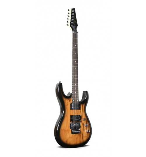 Guitarra Eléctrica Deviser L-G8 BK, Floyd Rose