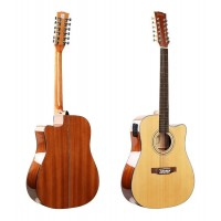 Guitarra Electroacústica Deviser L-12x-50 N 12 Cuerdas