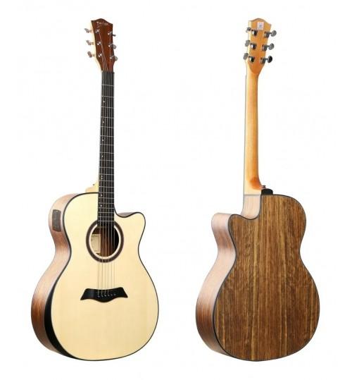 Guitarra Electroacústica Deviser  LS 570-41 N